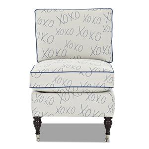 Klaussner Trixie Armless Chair