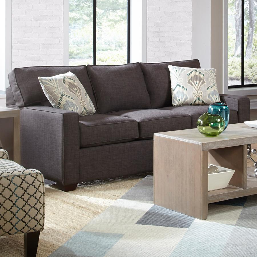 Belfort Basics Choices Custom Upholstery Casual Sofa with Track Arm - Item Number: K50000S