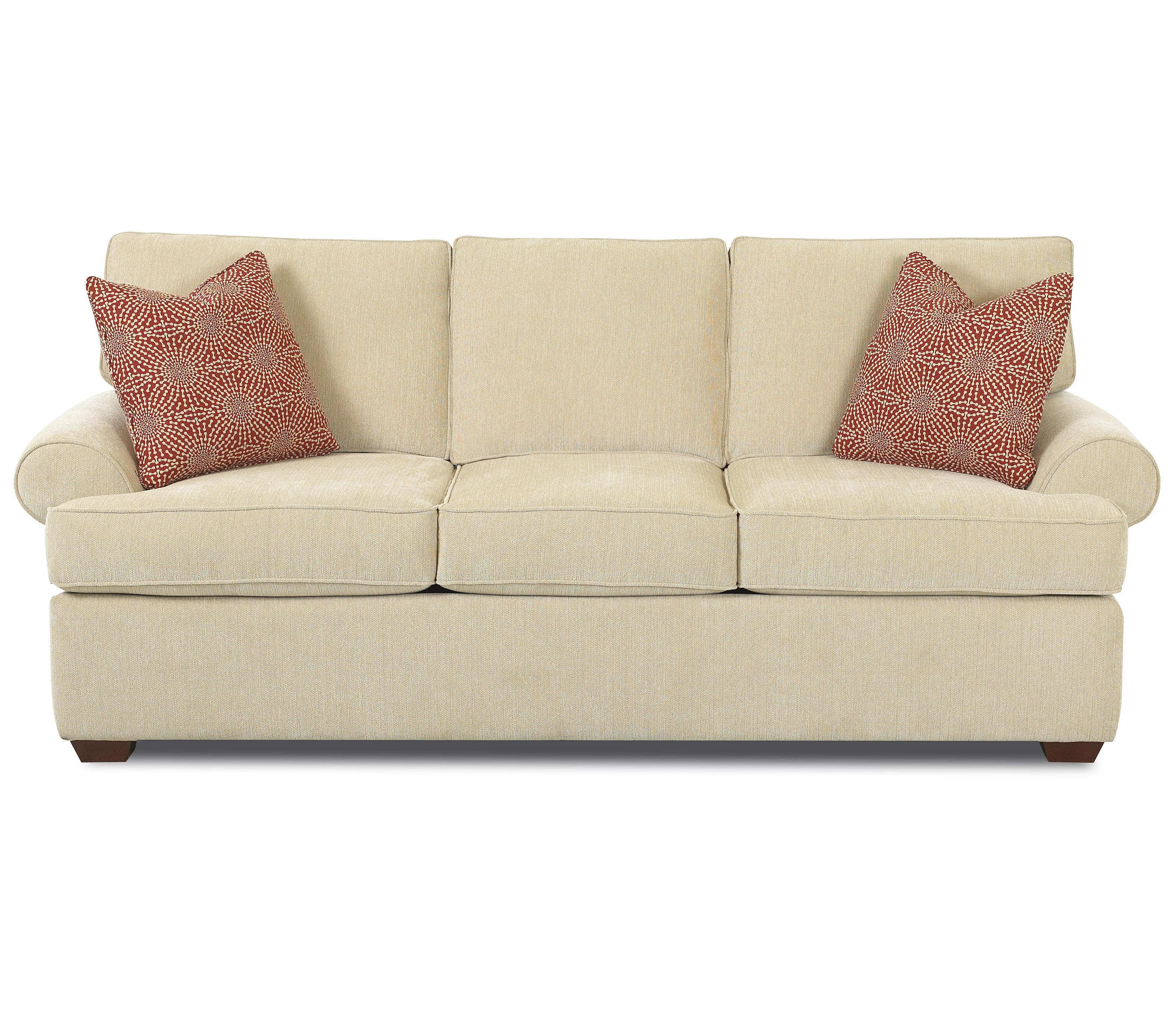 Belfort Basics Choices Custom Upholstery Innerspring Queen Sleeper - Item Number: K51360 IQSL