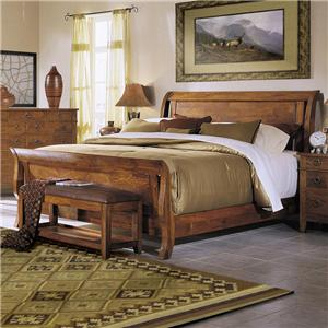Morris Home Furnishings Tuscon Queen Bed