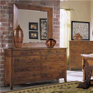 Morris Home Furnishings Tuscon Dresser Mirror