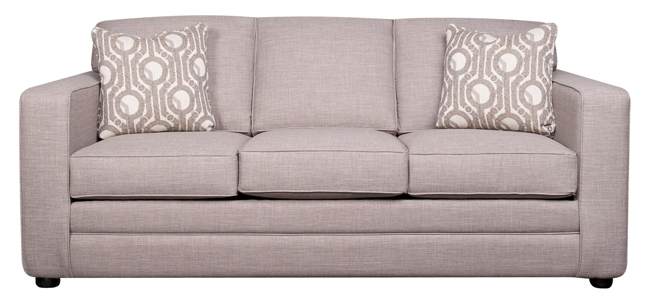 Elliston Place Vera Queen Sleeper Sofa with Memory Foam Morris