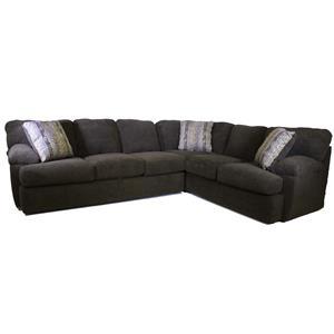 Klaussner Walton Sectional Sofa