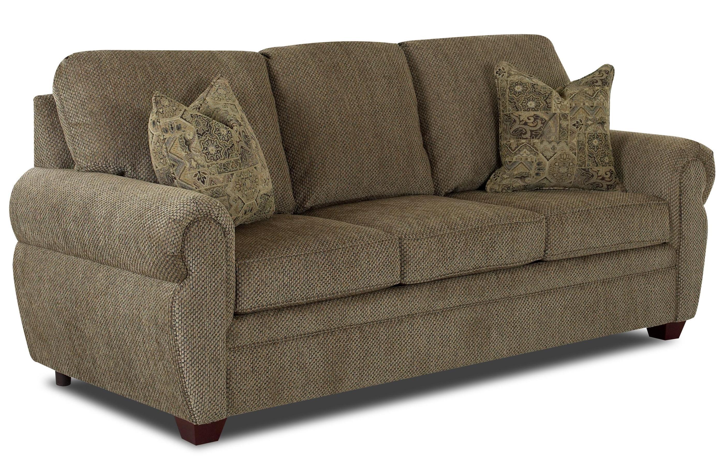 Klaussner Westbrook Rolled Arm Sofa Steger S Furniture