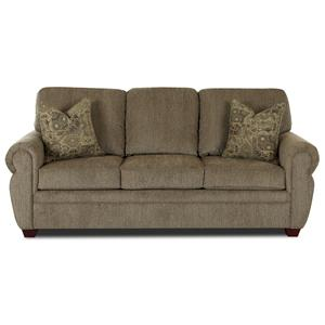 Klaussner Westbrook Sleeper Sofa w/ Innerspring Mattress