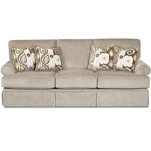 Klaussner Westerly Casual Sleeper Sofa