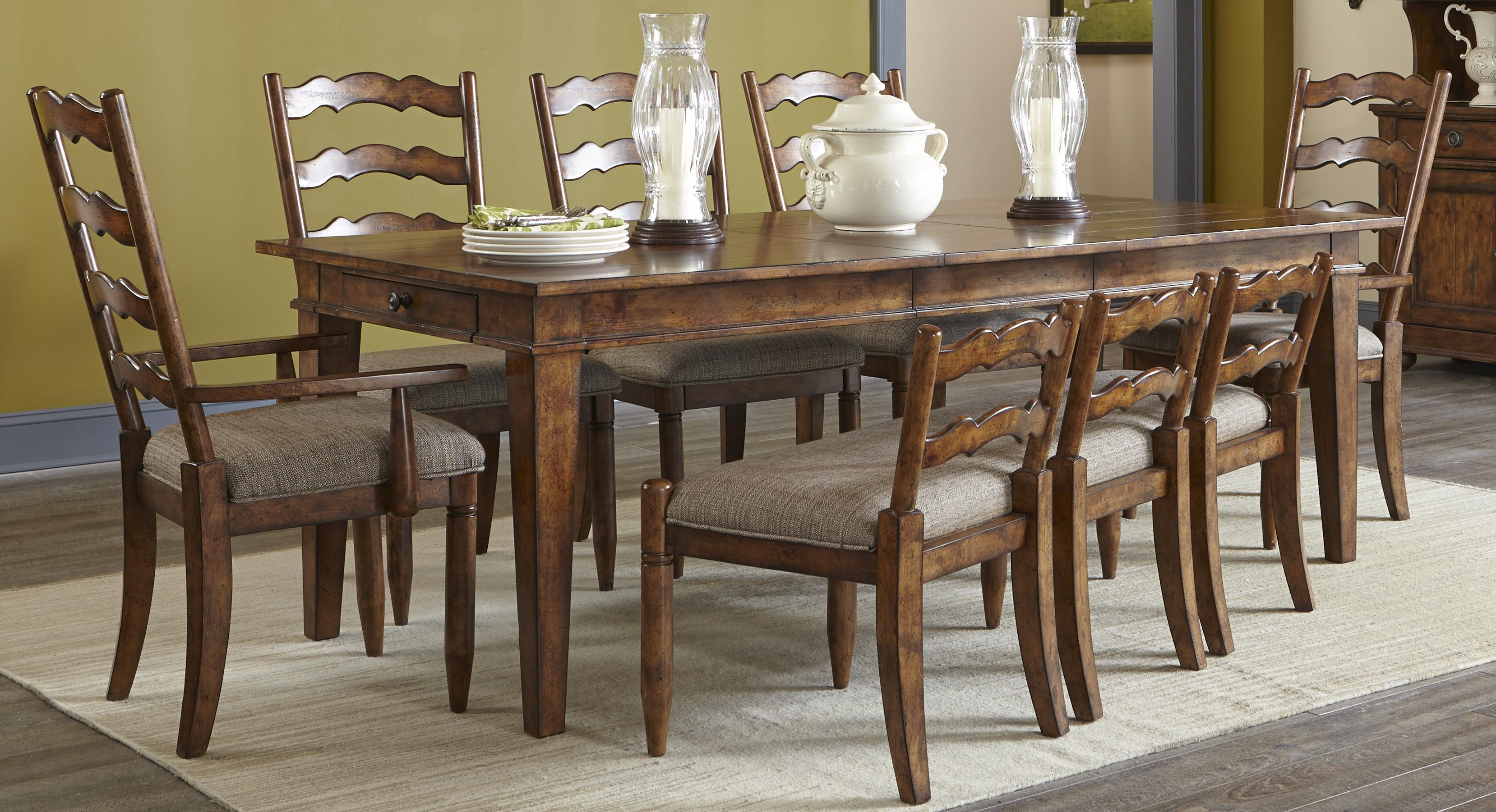 Elliston Place Willow Creek Willow Creek 5-Piece Dining Set - Item Number: 358827306