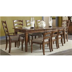 Elliston Place Willow Creek Willow Creek 5-Piece Dining Set