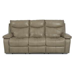 Belfort Basics Wilson Contemporary Reclining Sofa