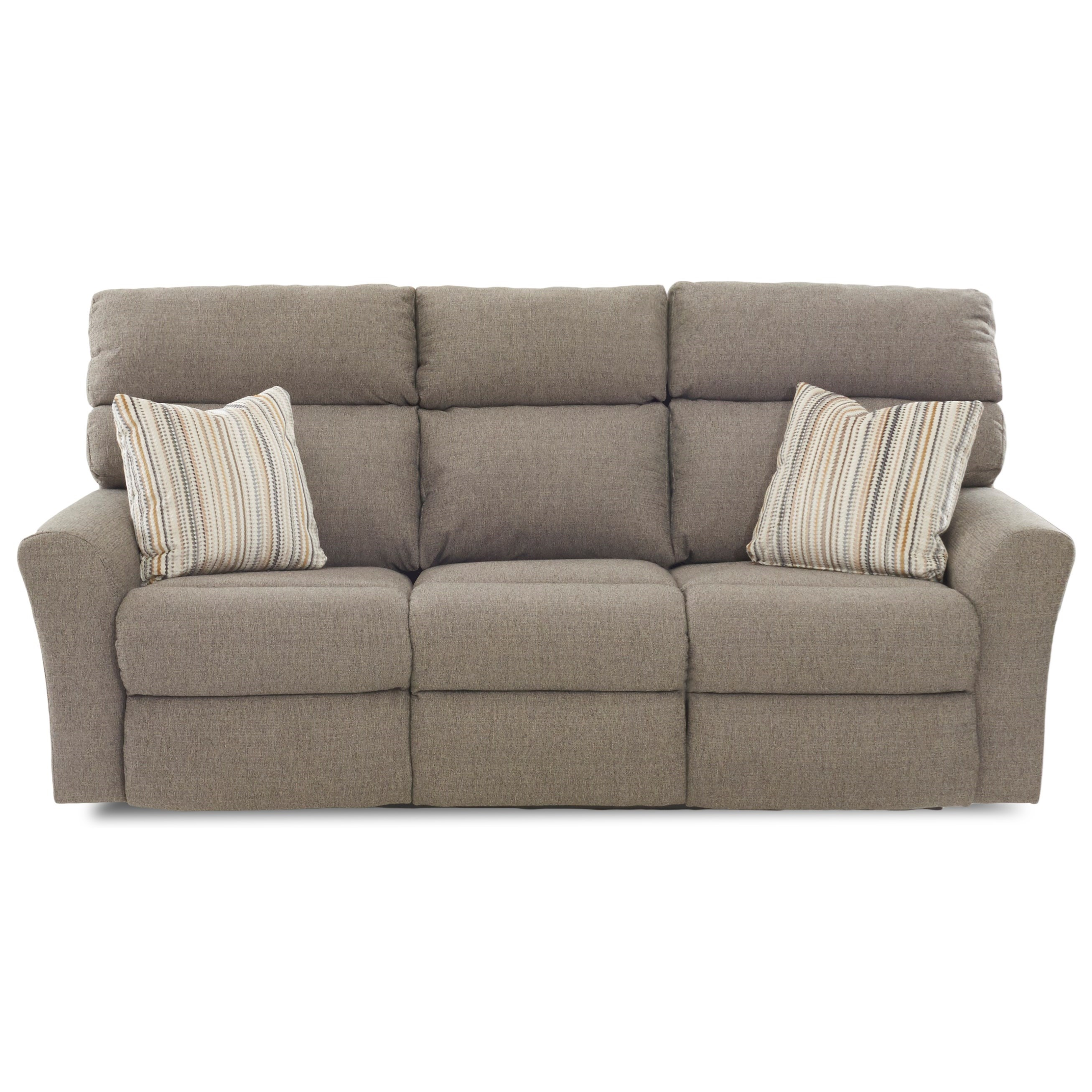 Reclining Sofa 3 Mech W Pillows