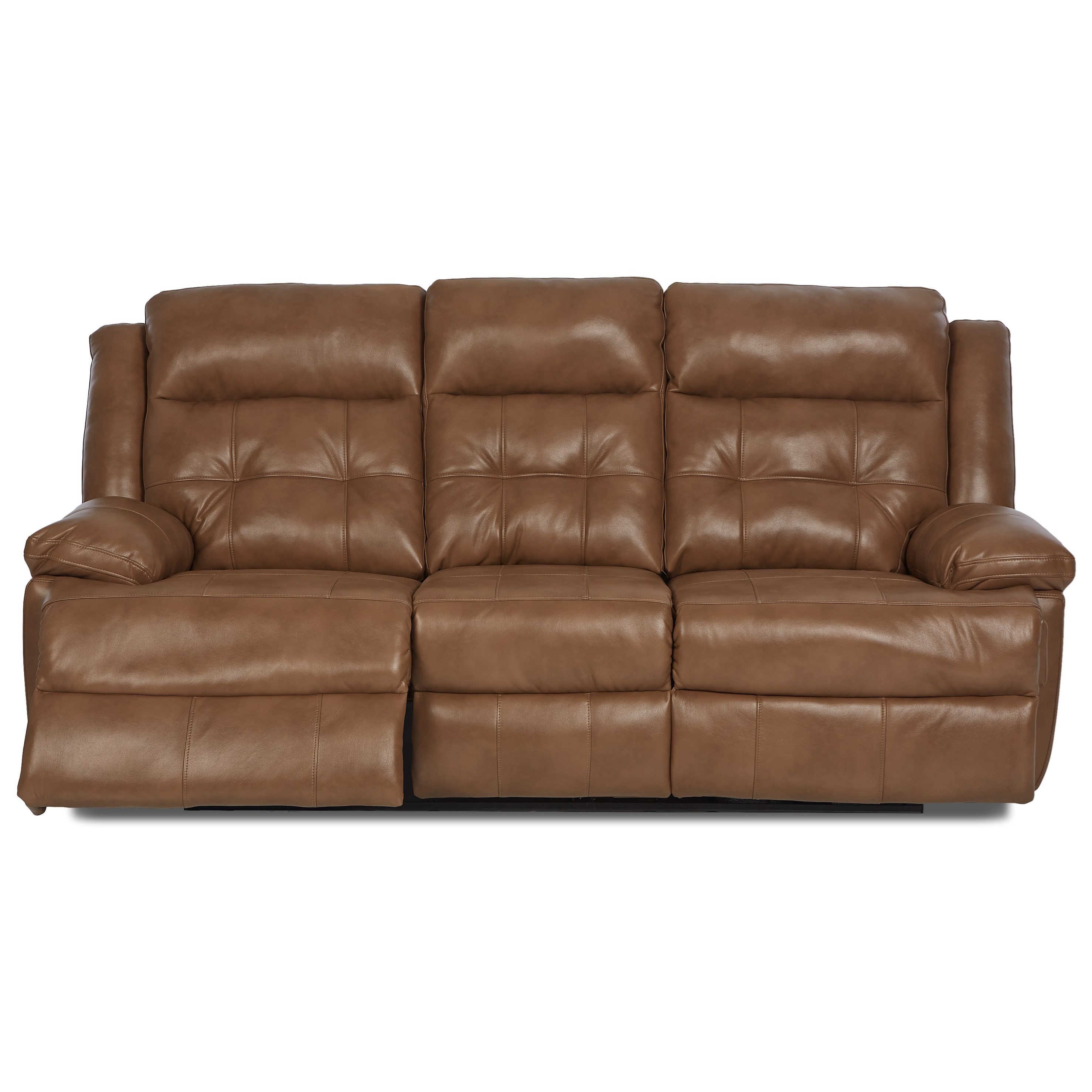 Klaussner Zeus Transitional Power Reclining Sofa With