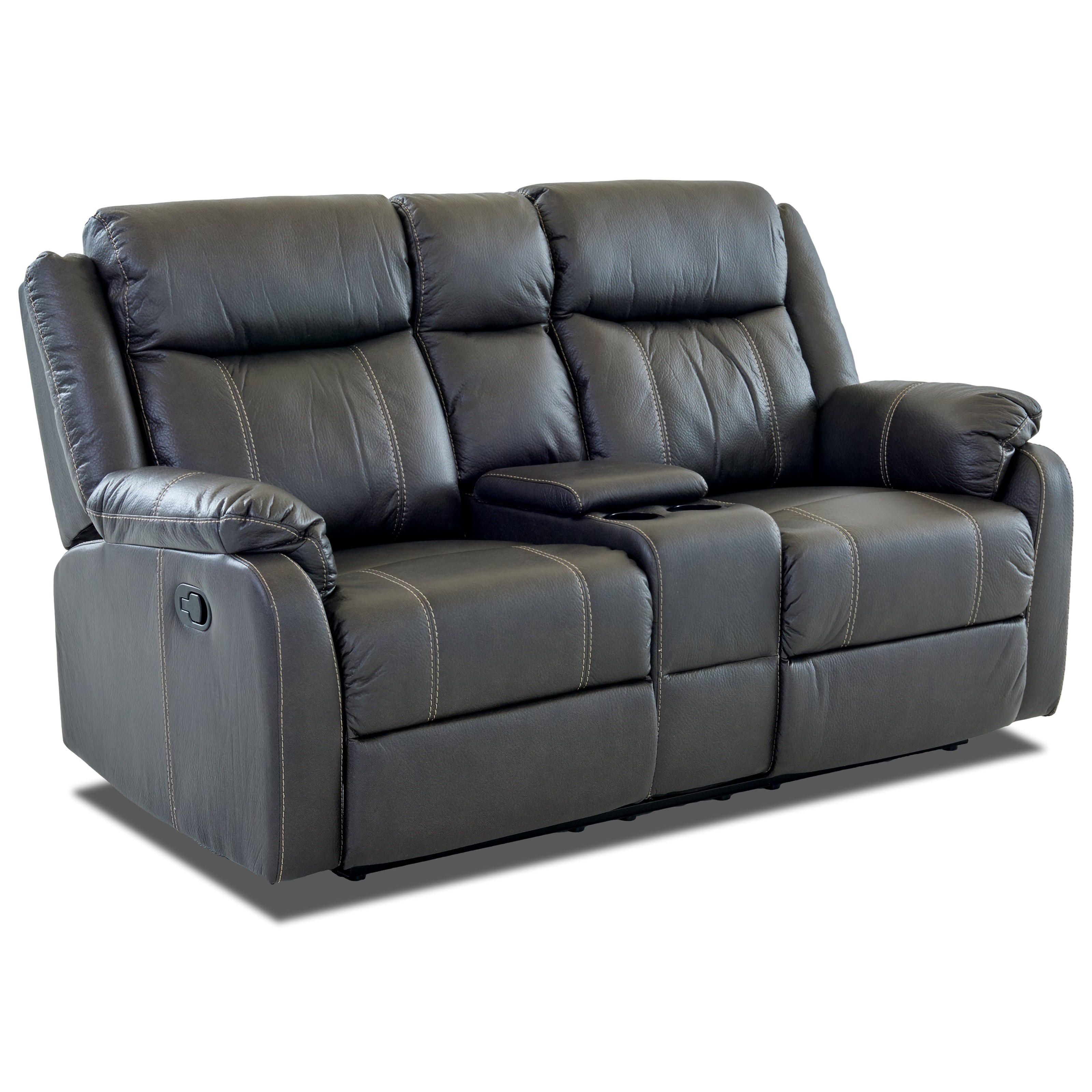 Valor Casual Console Reclining Loveseat Rotmans