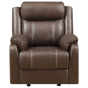 Klaussner International  Domino-US Gliding Recliner Chair
