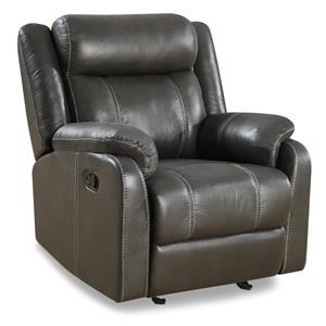 Klaussner International Valor Gliding Recliner Chair