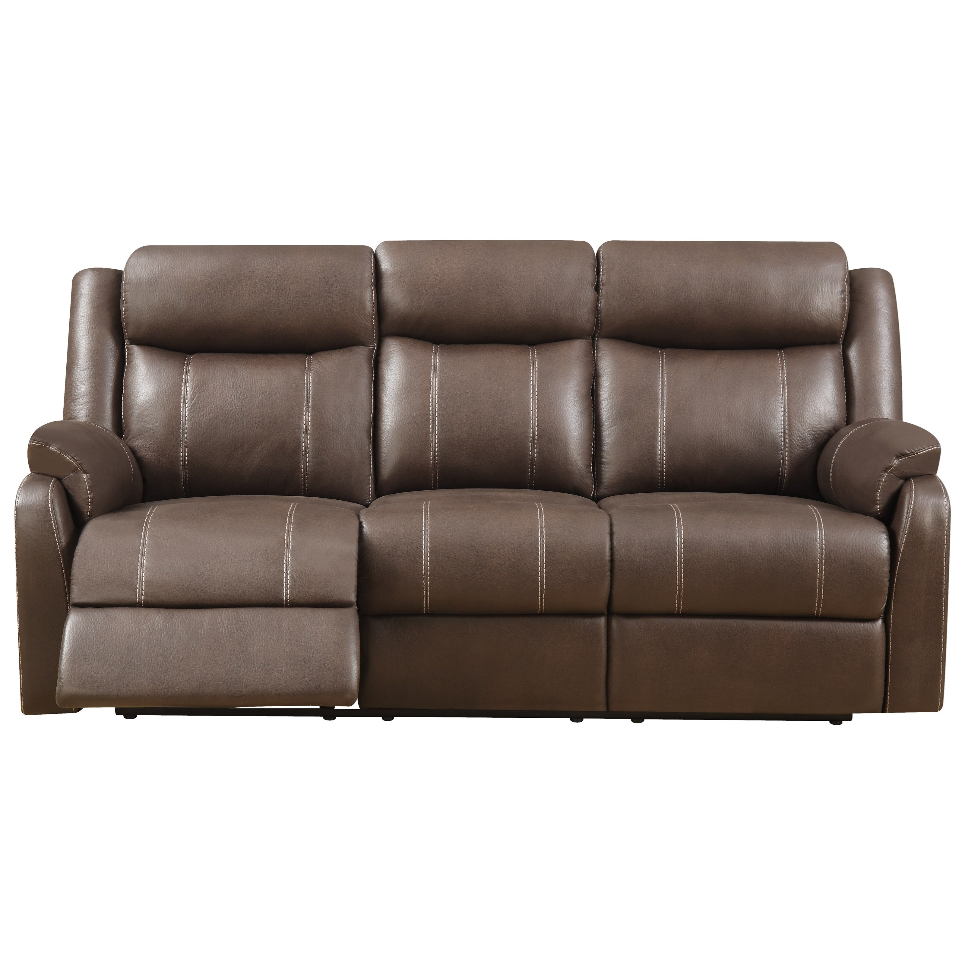 Klaussner International Domino Casual Reclining Sofa With