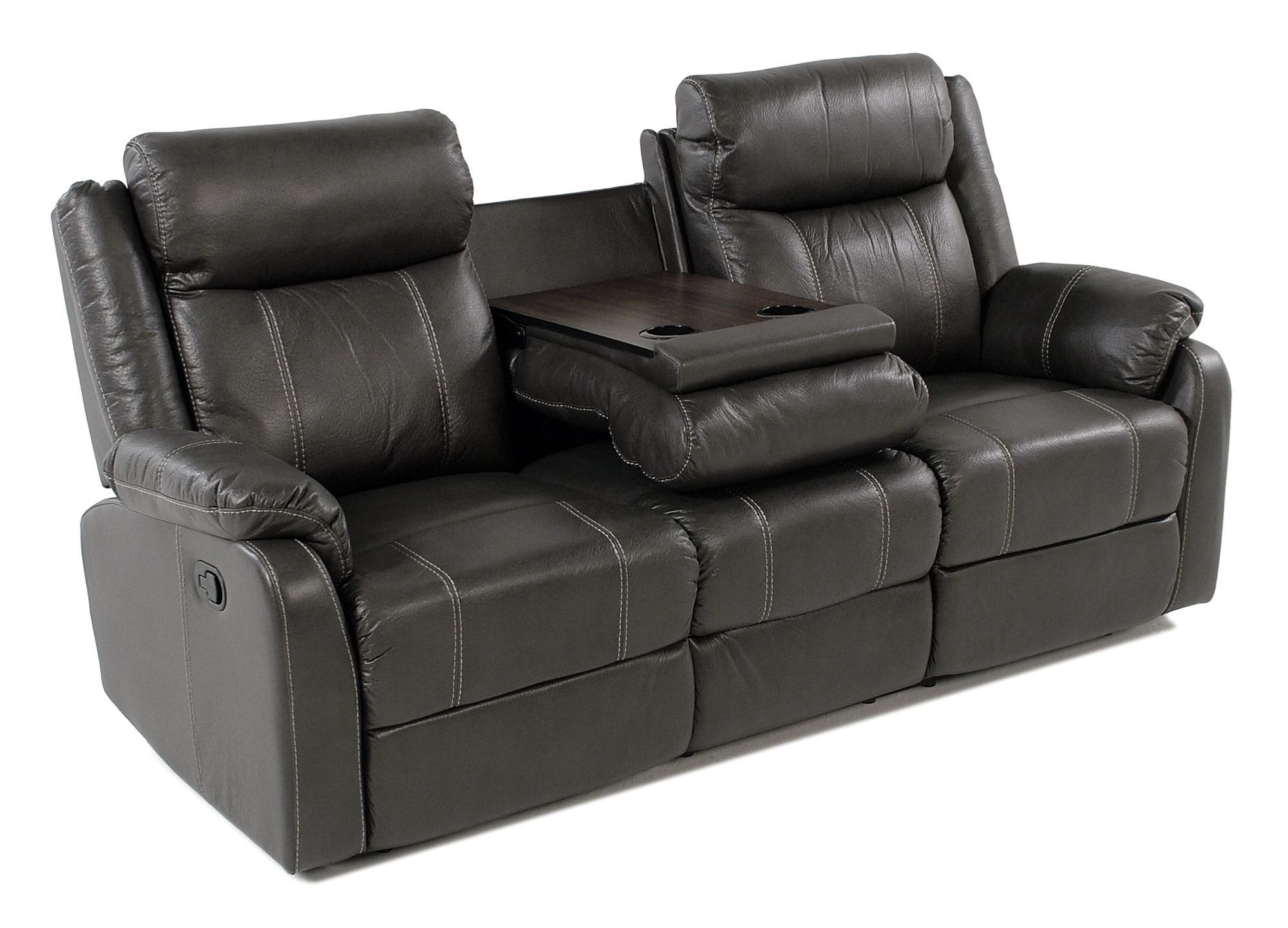Valor Casual Reclining Sofa With Drop Down Table Rotmans