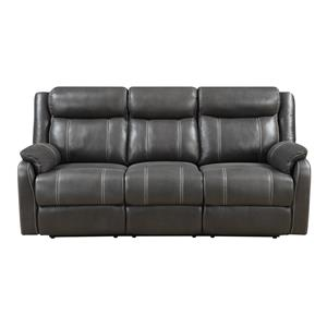 Klaussner International  Domino-US Reclining Sofa W/table