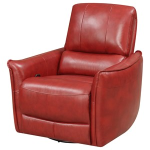 Klaussner International Adonis Swivel Recliner