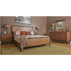 Klaussner International Affinity CA King Bedroom Group