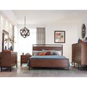 Klaussner International Affinity Queen Bedroom Group - Item Number: 710 Q Bedroom Group 4