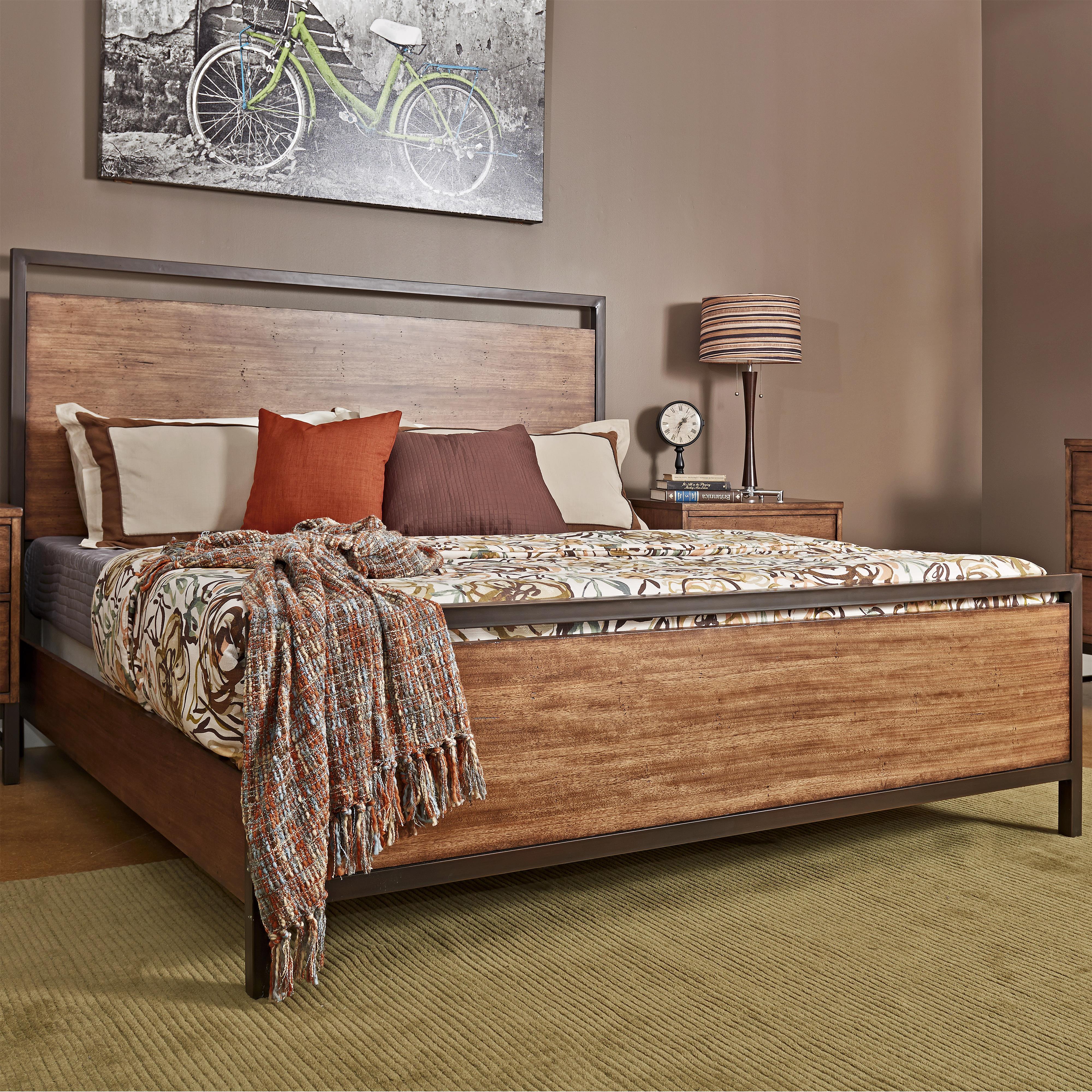 Belfort Basics Affinity King Panel Bed - Item Number: 710-066
