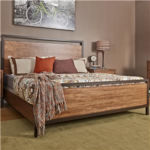 Morris Home Furnishings Tribecca Tribecca King Panel Bed