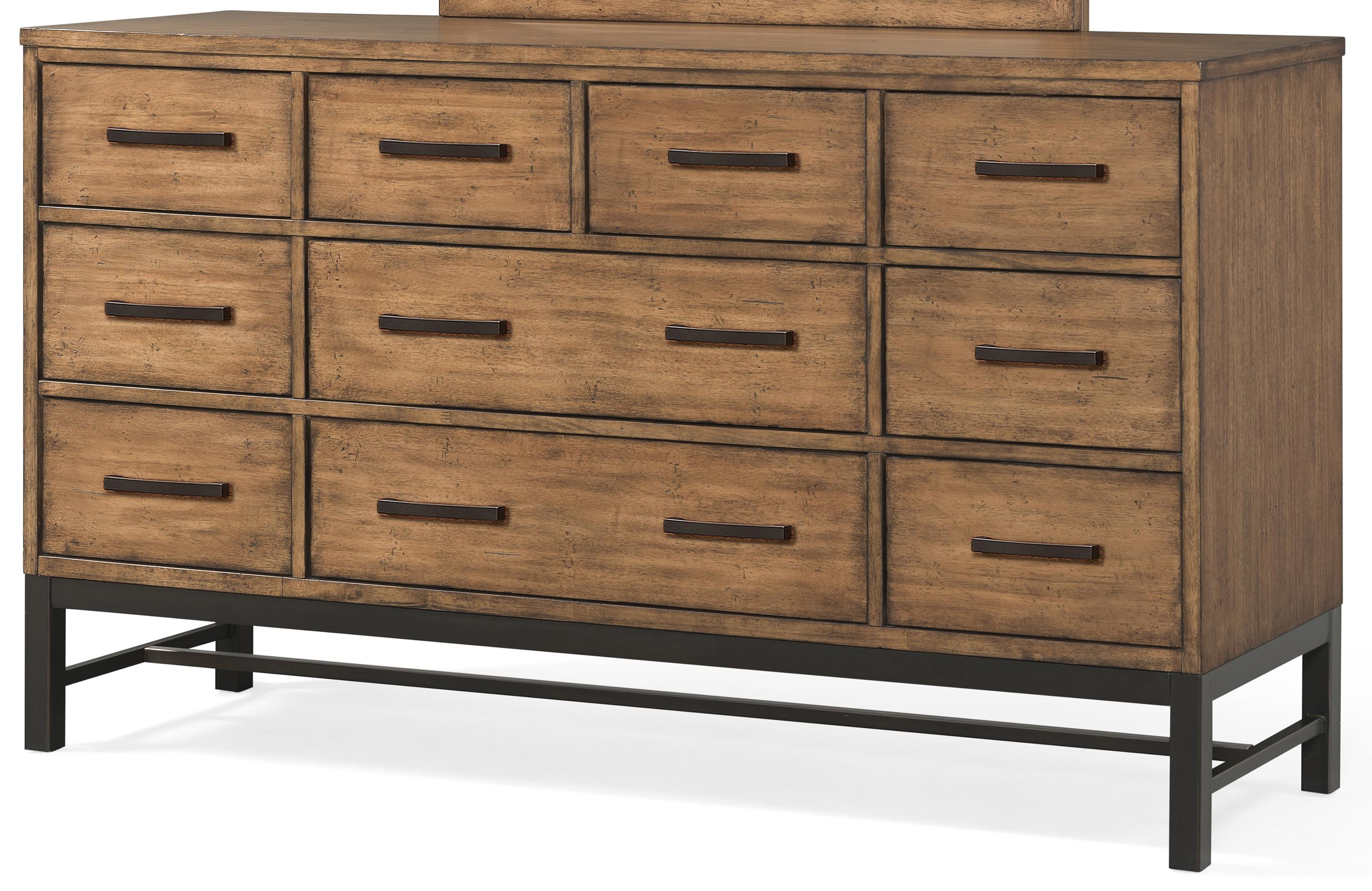 Klaussner International Affinity 10 Drawer Dresser - Item Number: 710-650