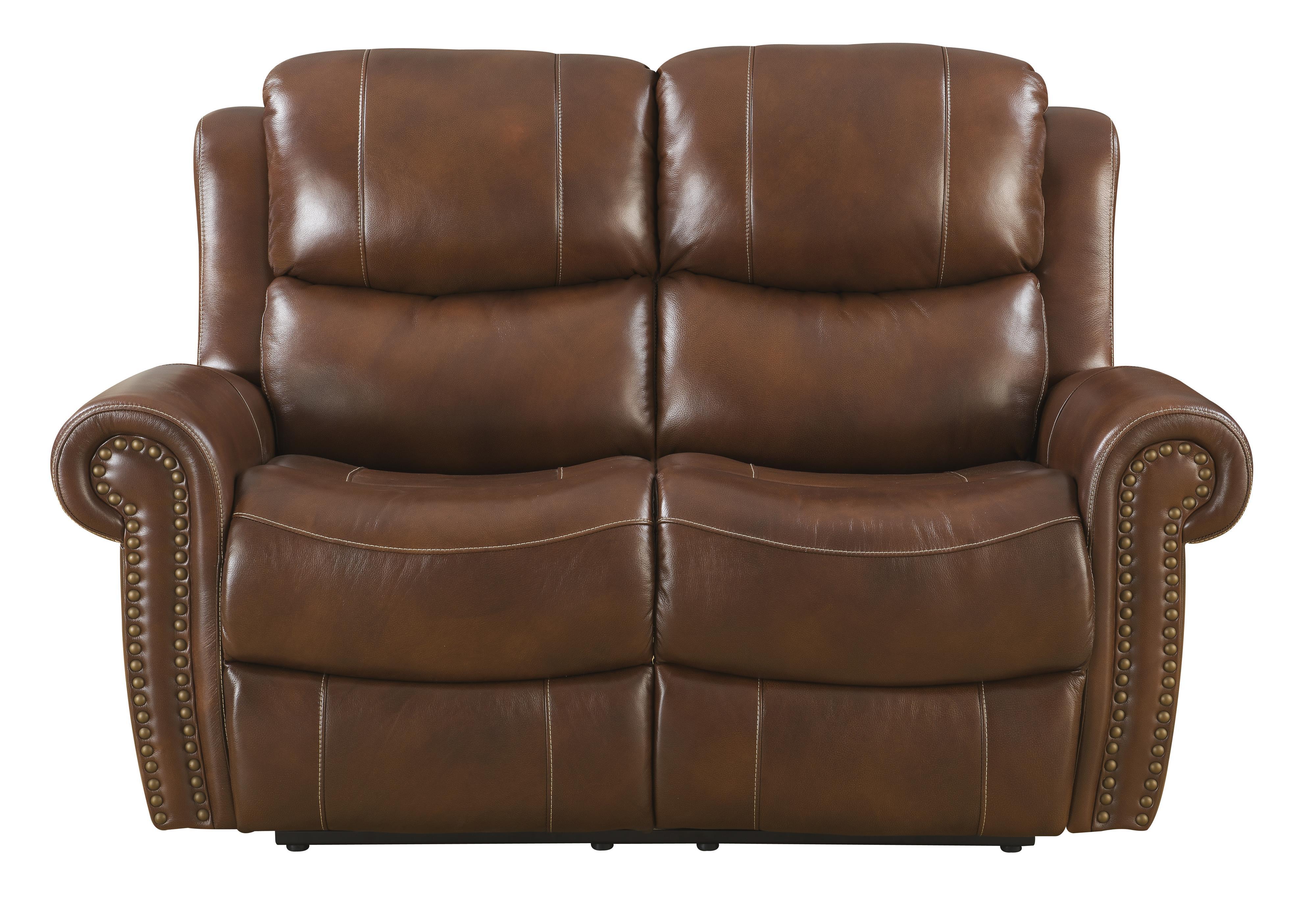 Klaussner International Alomar-US Power Reclining Love Seat - Item Number: ALOMAR-US PWRLS-KilkChoc