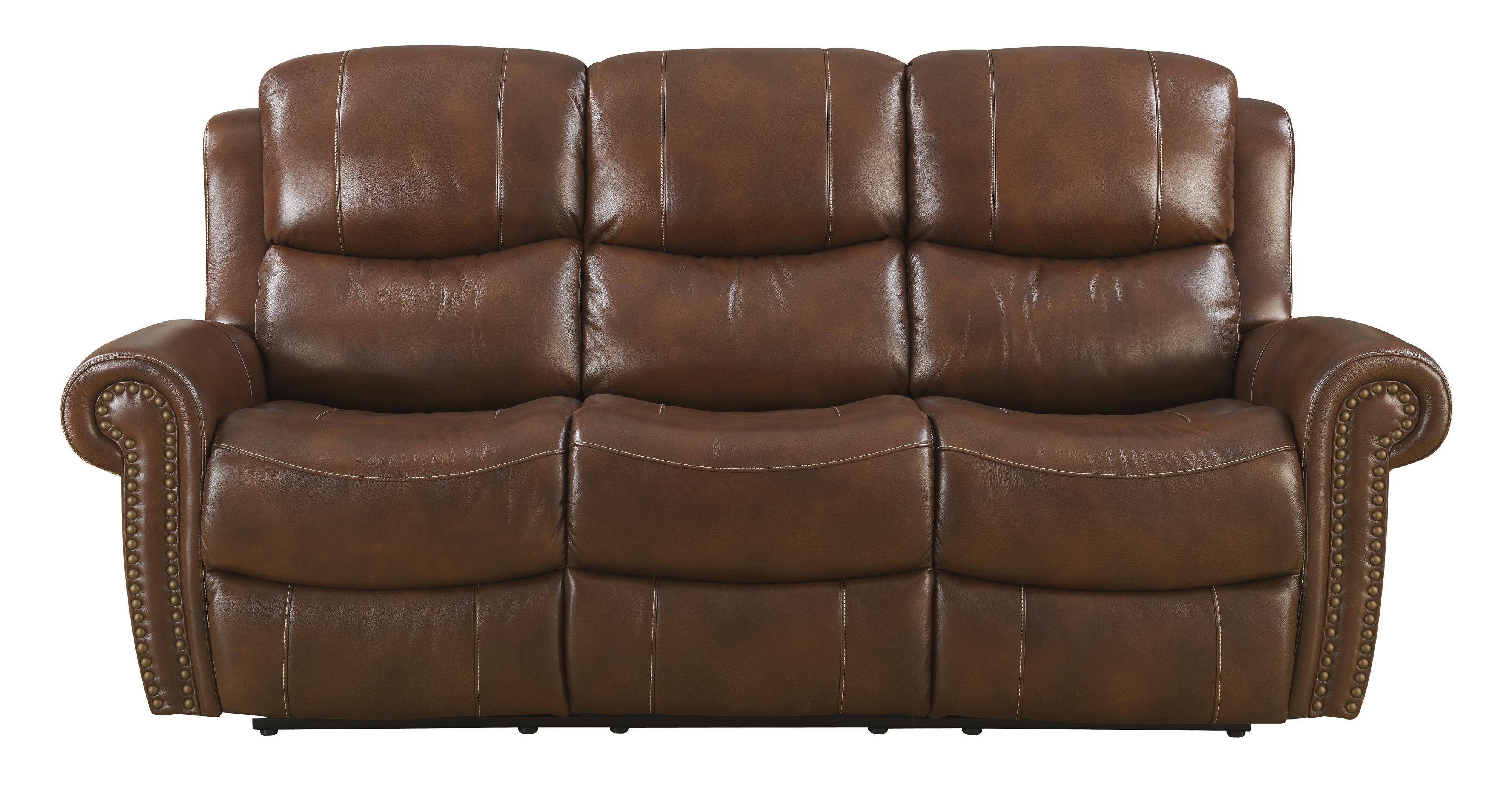 Belfort Basics Alomar Reclining Sofa - Item Number: ALOMAR-US RS-KilkChoc