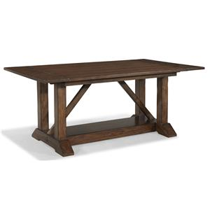Morris Home Furnishings Livingston Livingston Trestle Table
