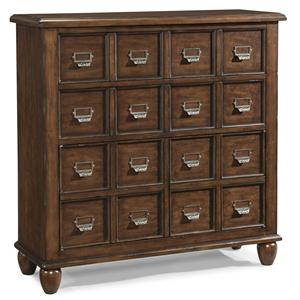 Easton Collection Blue Ridge Magnolia-Cherry Apothecary Chest