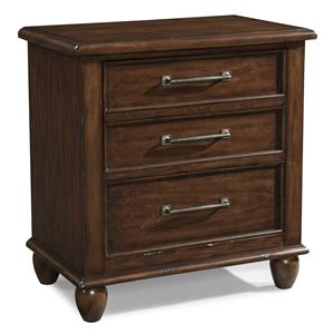 Easton Collection Blue Ridge Cherry Three Drawer Nightstand