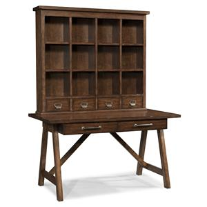 Morris Home Furnishings Livingston Livingston Desk & Hutch