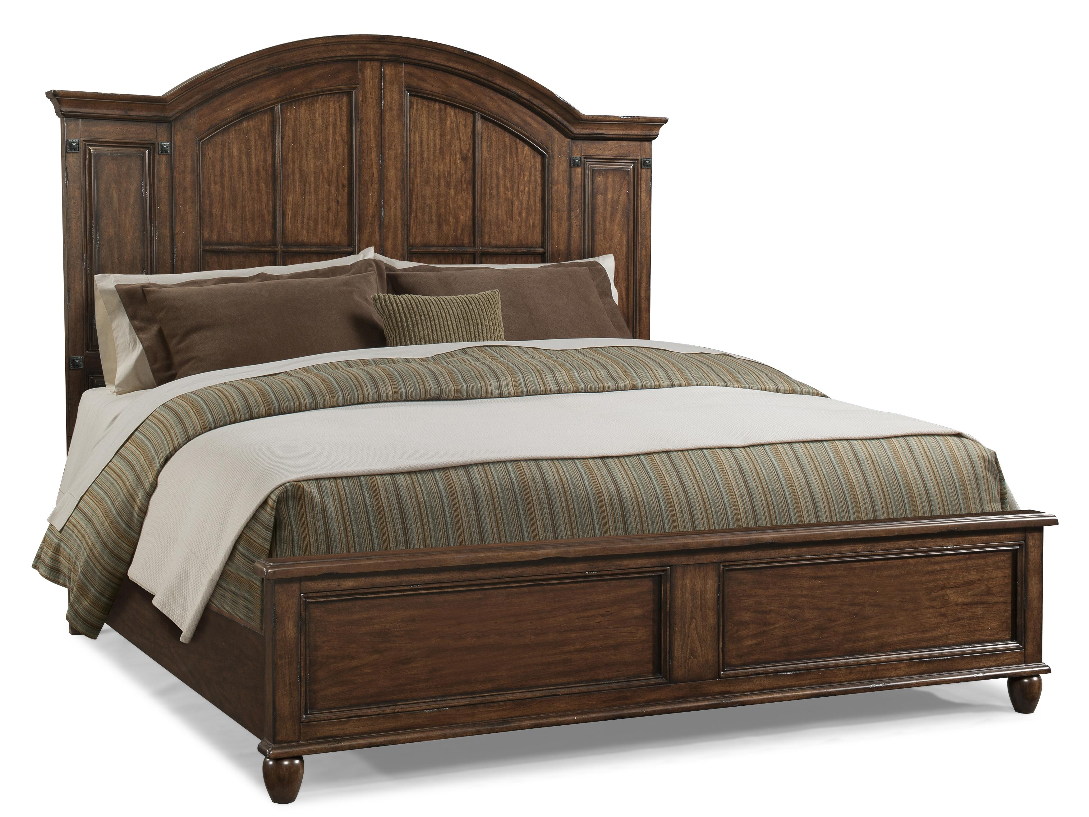 Morris Home Furnishings Livingston Livingston Queen Panel Bed - Item Number: 427-050 QBED