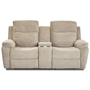 Klaussner International Castaway-US Console Reclining Loveseat