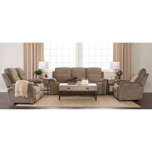 Klaussner International Castaway-US Living Room Group