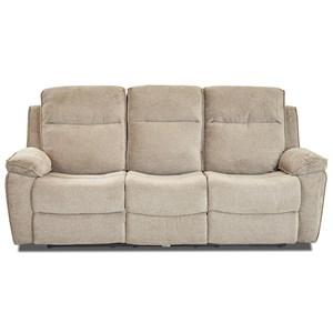 Klaussner International Castaway-US Reclining Sofa