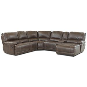 Morris Home Furnishings Darius Sectional Sofa