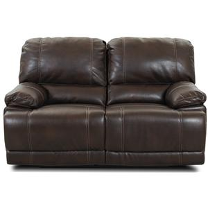 Morris Home Furnishings Darius Reclining Love Seat