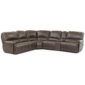 Klaussner International Darius Sectional Sofa