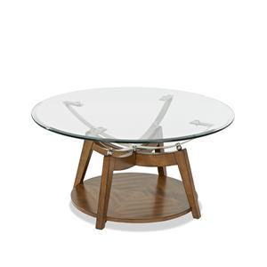 Klaussner International Ellipse Cocktail Table