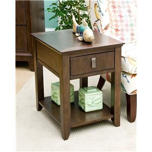 Morris Home Furnishings Falls Ave Falls Ave Contemporary Side Table