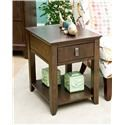 Morris Home Furnishings Falls Ave Falls Ave Contemporary Side Table - Item Number: 585644203