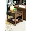 Morris Home Furnishings Falls Ave Falls Ave Contemporary End Table - Item Number: 673075440