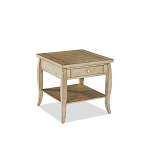 Klaussner International Glen Valley End Table