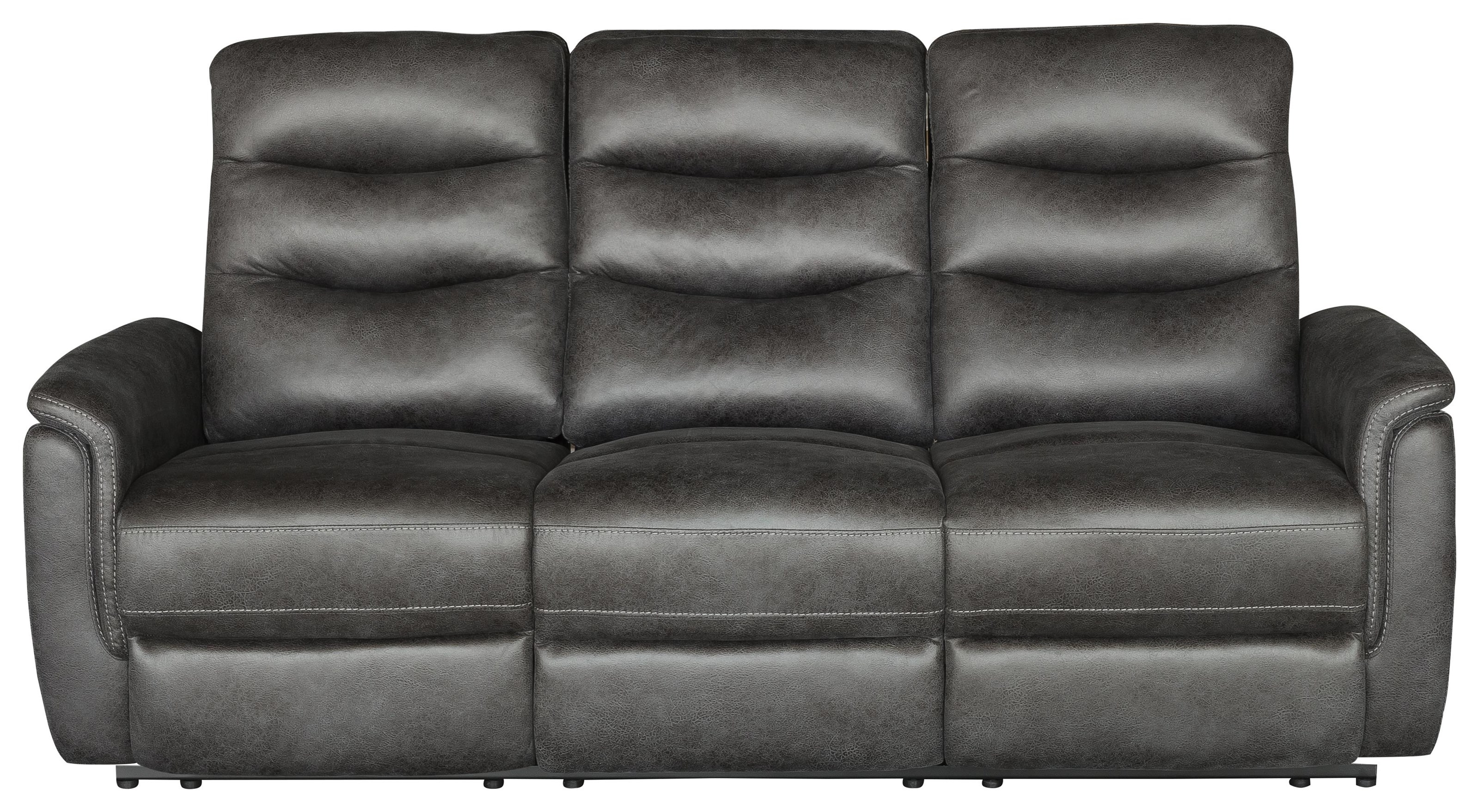 Graham Power Reclining Sofa by Klaussner International at HomeWorld Furniture