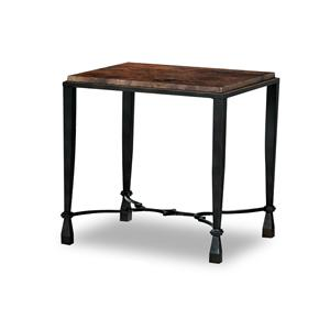 Morris Home Furnishings La Pinta Infinity Run End Table