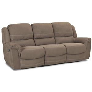 Morris Home Furnishings Lazarus Double Reclining Sofa
