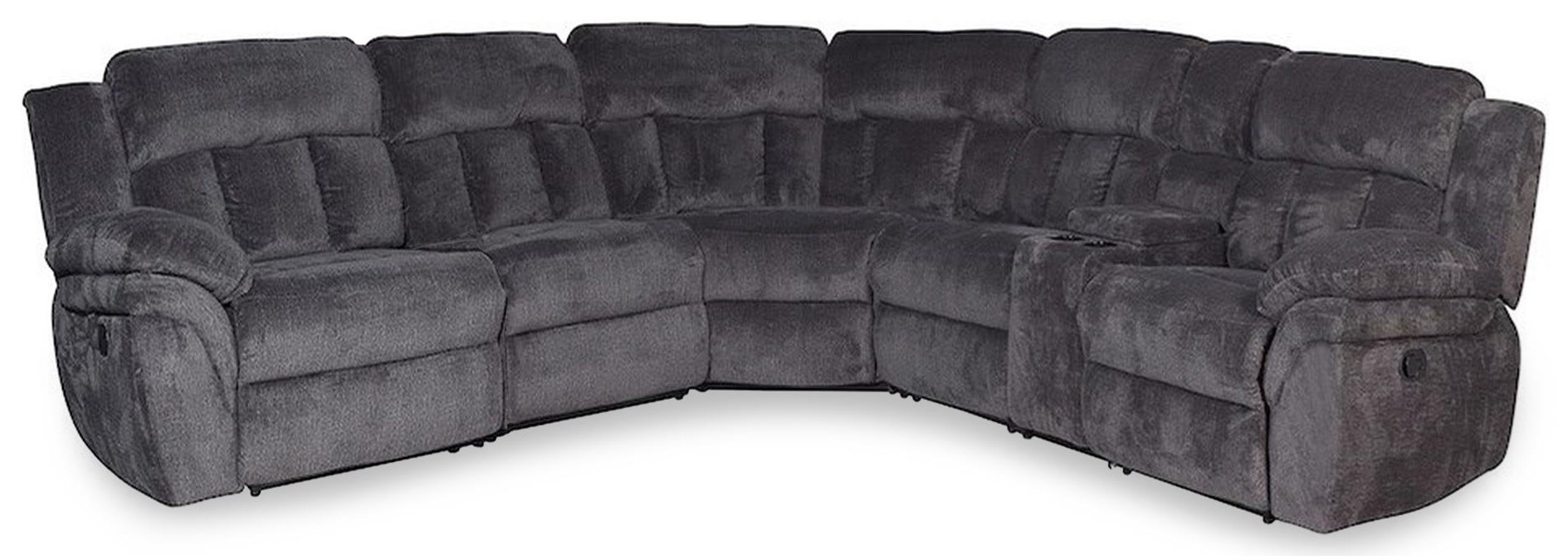 Cobb 6PC Reclining Sectional Sofa w/ Storage Cons at Rotmans