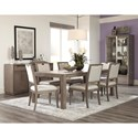 Klaussner International Melbourne Casual Dining Room Group - Item Number: 680 Dining Room Group 3